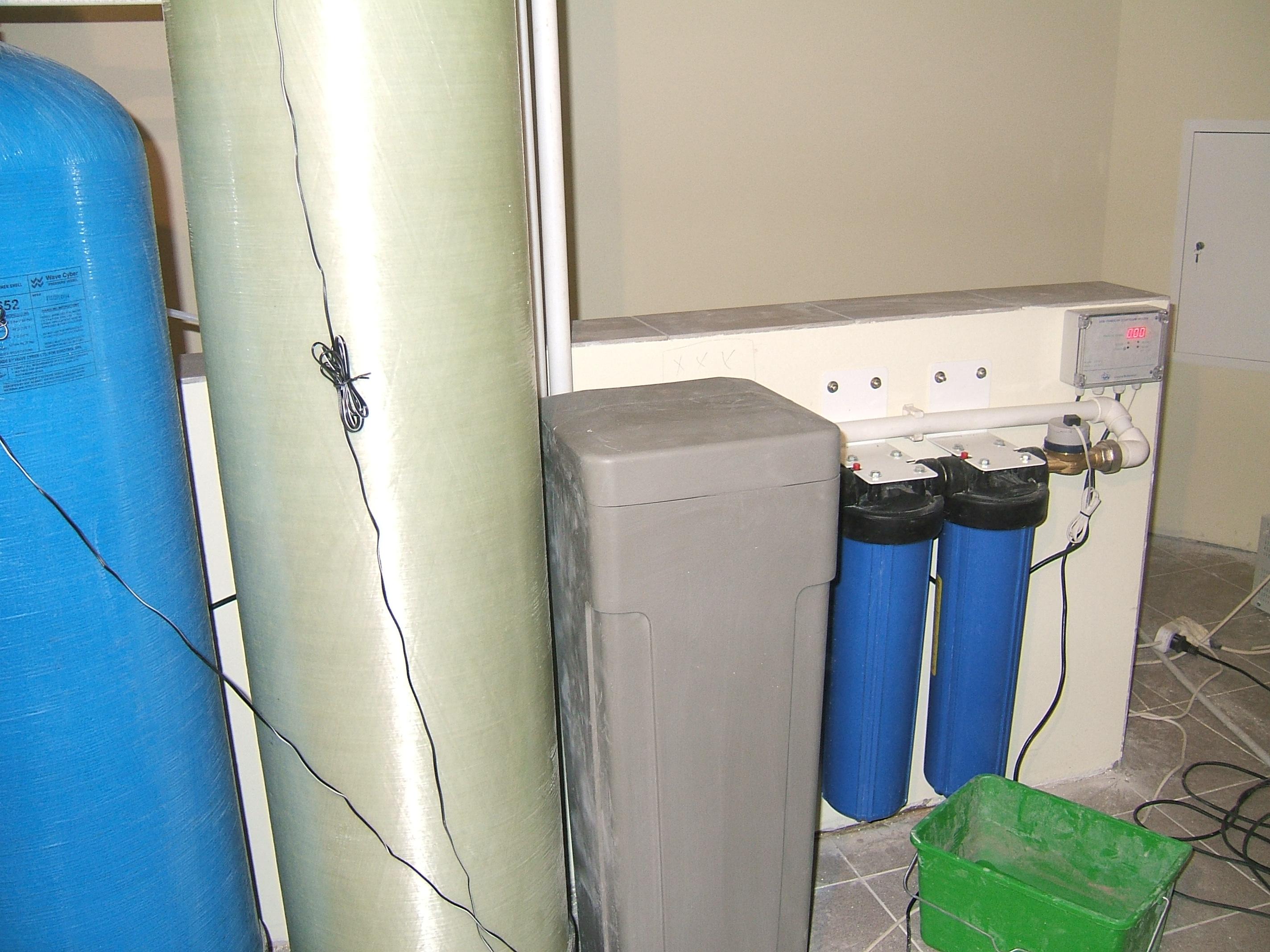 Очистка воды из скважины